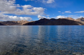 Water is so clear in Pangong lake