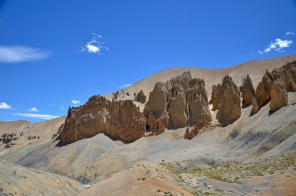 Rock & Sand formation on Leh-Manali highway