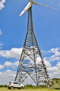 Wind mills near Hassan