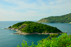 View from Krom Luang Chumphon Monument