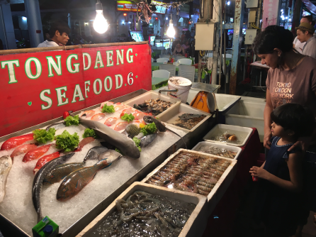 Street foods in Patong Town