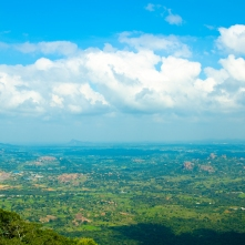 View from Savandurga hills